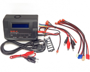 B680AC AIR Dual Power (6Amps, 80Watts): LiPo, LiIon, LiFe, NiCd, NiMh AC/DC Balancing Battery Charger